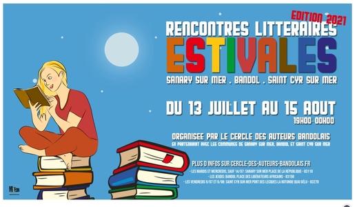 Soirées littéraires à Sanary, Saint-Cyr et Bandol