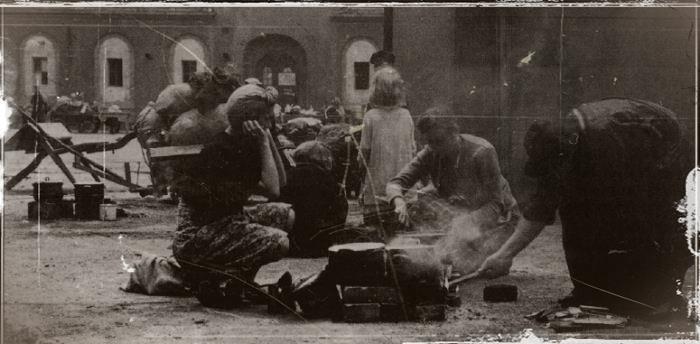chute de Berlin en 1945