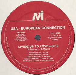 USA . European Connection - Living Up To Love