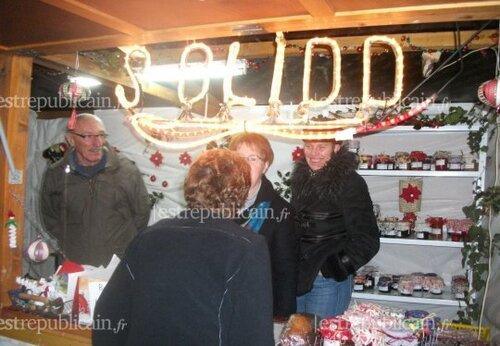 Le marché de Noël de l'Isle-sur-le-Doubs