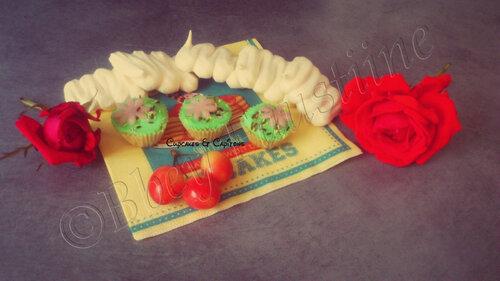 Les mini cupcakes sont dans les pré pour l'été ^^ ...