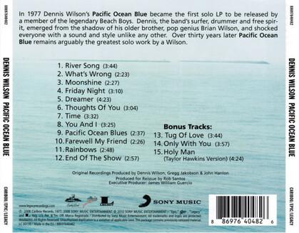 Chefs d'oeuvre oubliés # 57 : Dennis Wilson - Pacific Ocean Blue (1977)