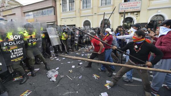 Sur la situation en Équateur - texte du FDLP