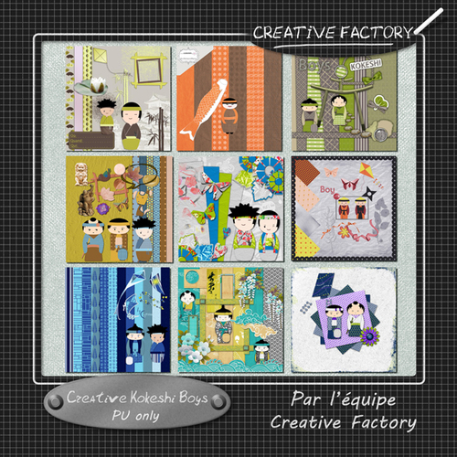 Creative Factory et sa Collab. FREEBIE