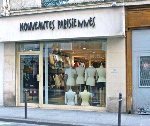 boutique nouveautés parisiennes