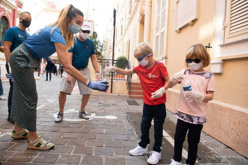 World Clean Up Day dans la principauté