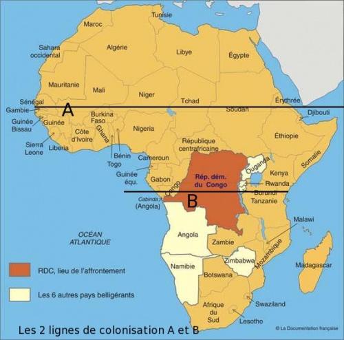 Infographie Géostratégie de colonisation africaine-2012