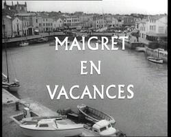 """Hommage à Gisèle Casadessus : """"Maigret en vacances"""""""