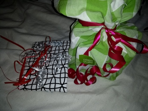 Emballage cadeau zéro déchet