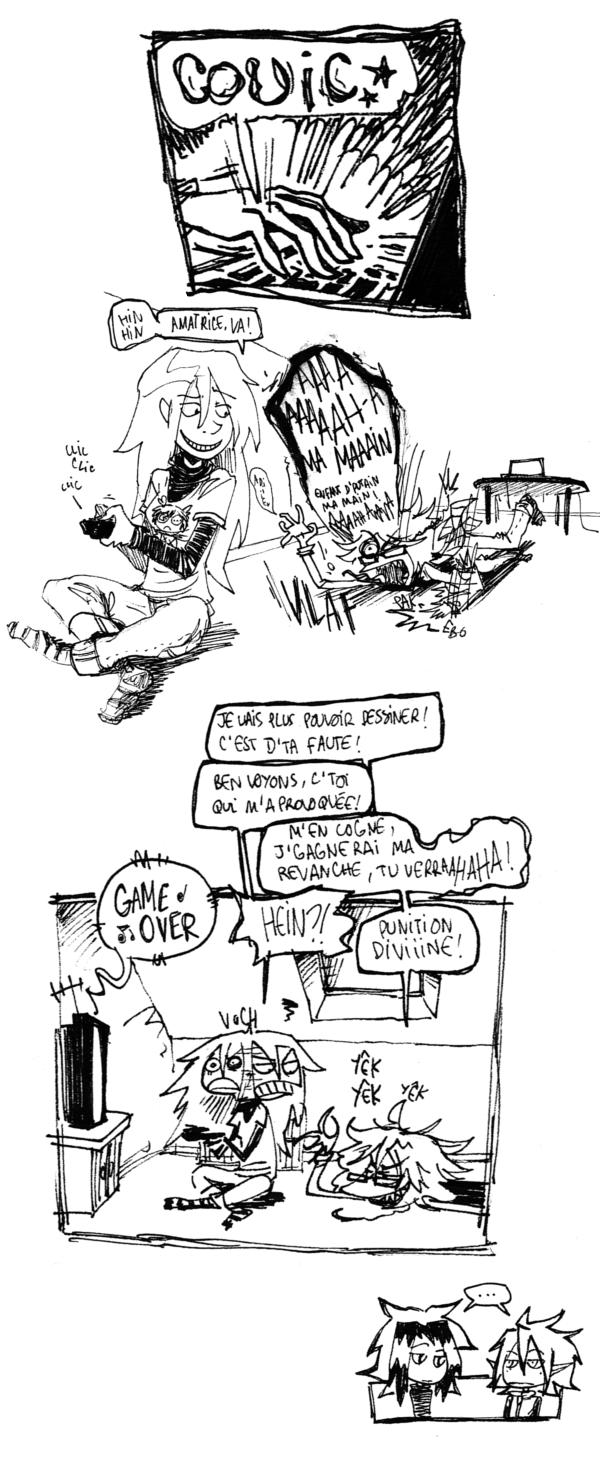 """""""On est des grenouilles, on adore les nouilles, nananananère"""" in Magical Doremi"""