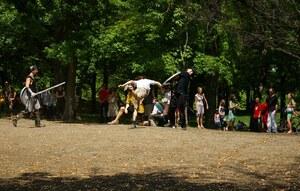 books montreal medieval battle park forest