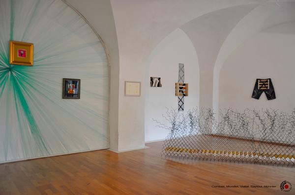 Combas Dezeuze Morellet Monnier Saytour Viallat  EXHIBITION