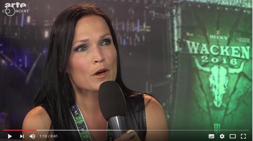Tarja Turunen : Vidéo interview au Waken