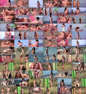Голые пляжи Европы 2015 / Nude Euro Beaches 2015. Parts 3, 12, 14, 15.