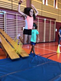 Le saut à ski : équipes 3 et 4