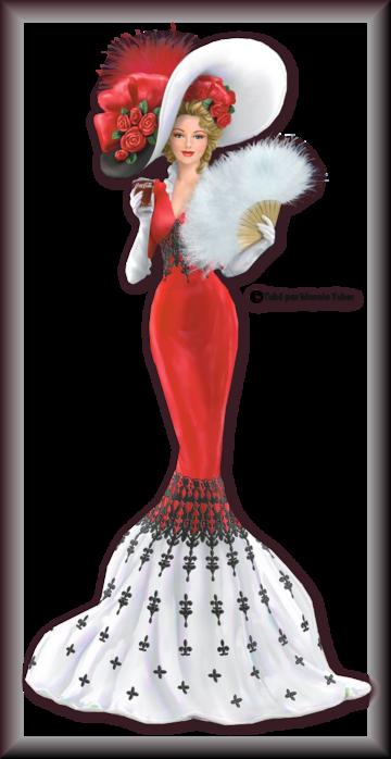 Tube Femme vintage en robe 2980
