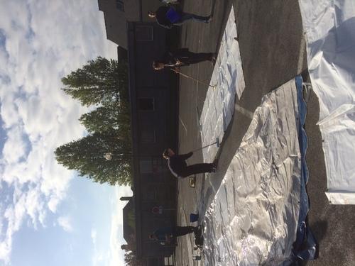 - Nettoyage des barnums en images