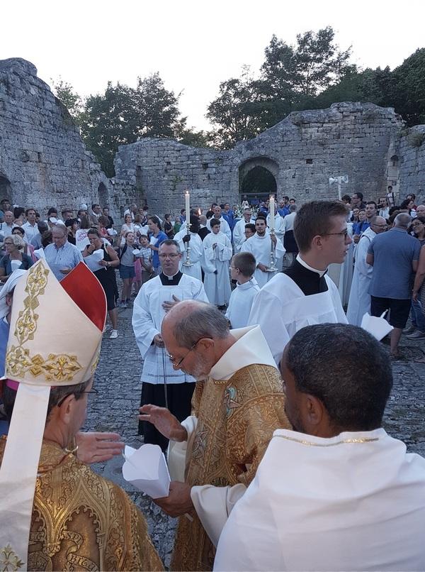 Procession du 14 août au soir