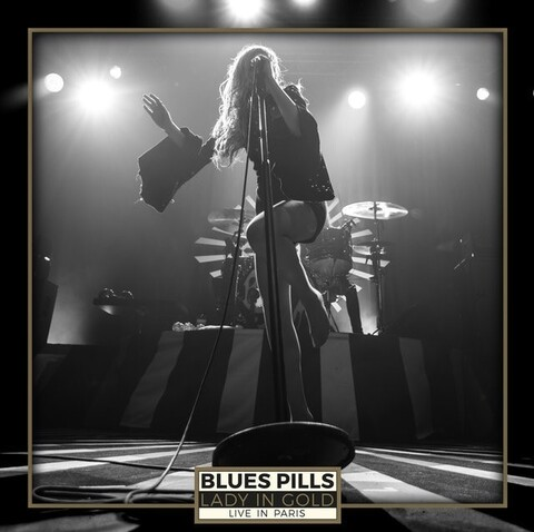 BLUES PILLS - Les détails du DVD/Blu-ray Lady In Gold - Live In Paris