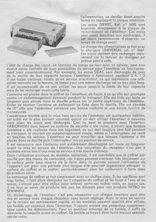 Notice Variophon/Varioton