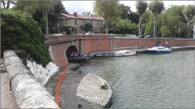Le canal latéral de la Garonne