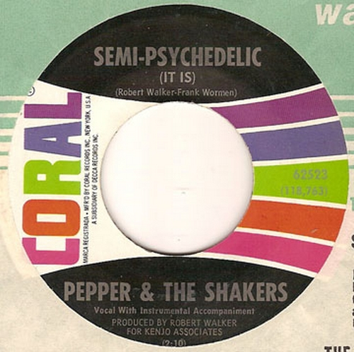 Pepper & The Shakers : Semi - Psychedelic [ It Is ]
