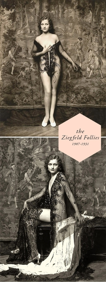 Ziegfeld Follies Costumes 1910s to the 1920s