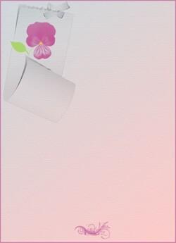 Papier FLEURS & Beaux jours