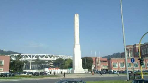 L'Obelisque du Duce...