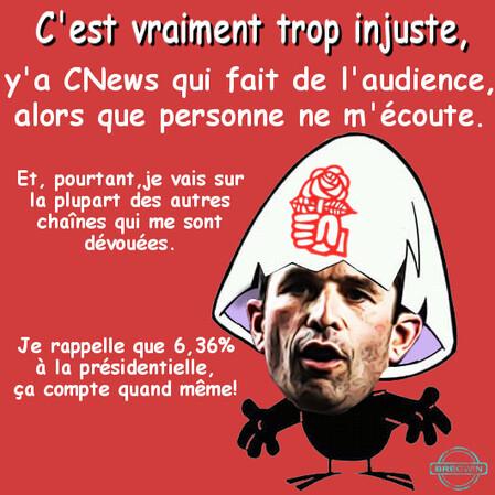 Benoît Hamon parodie