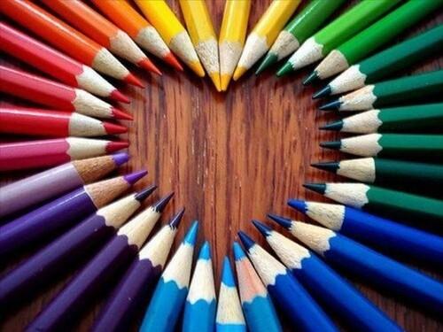 Mes dessins aux crayons de couleurs