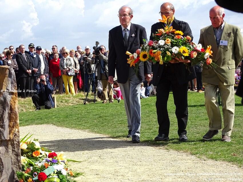Inauguration Mémorial LANCASTRIA - 18 juin 2016