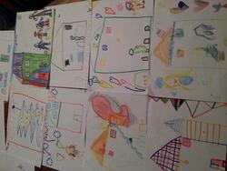 Les travaux de la maternelle de Landean