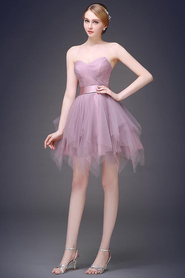 robe-de-soirée-violette-chic-bustier-ligne-A-tendance