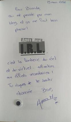I.R.L de Agnès Marot