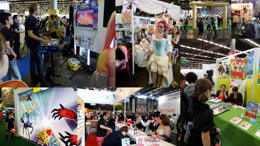 Japan Expo Les Stands : Japan expo zecaillouds