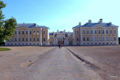 Riga (Lettonie) : Bauska château Rundalé ... n 7