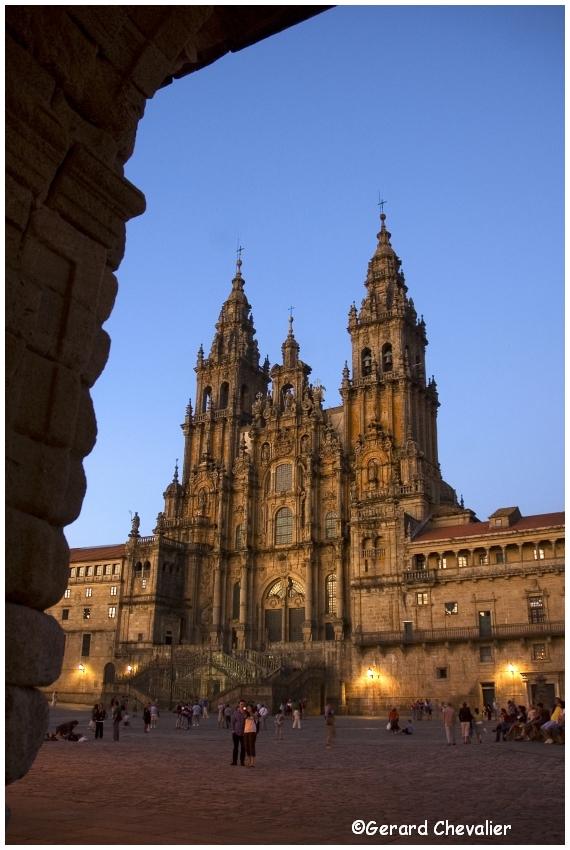 Santiago de Compostela - La Cathédrale.