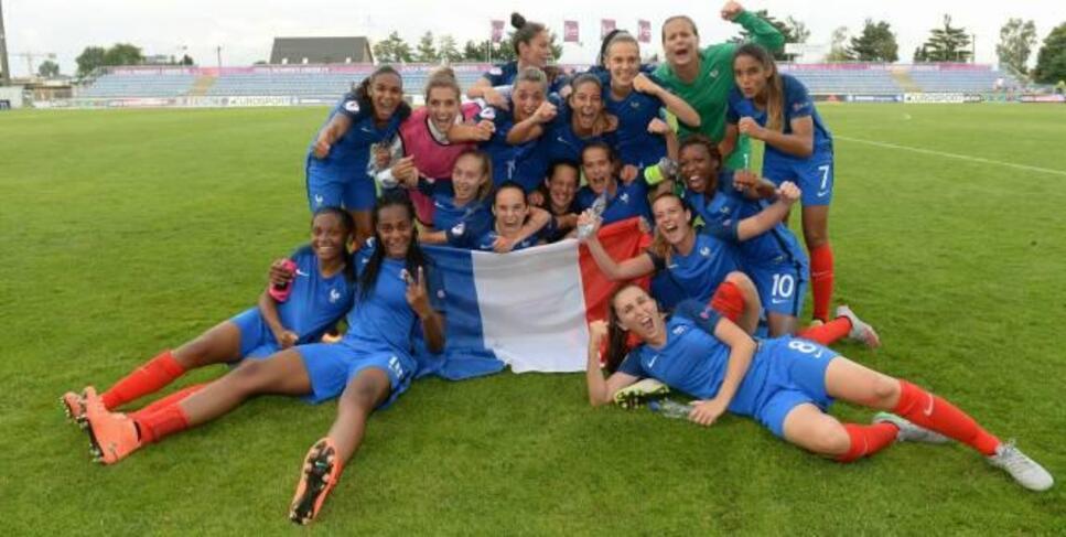 Les Bleuettes sont championnes d'Europe