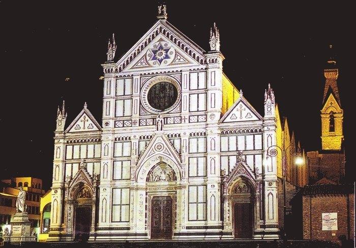 Italie, Florence, Basilique St Croce