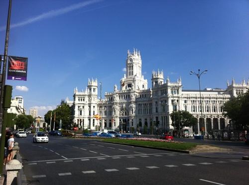 J1. 8septembre : le grand départ, Moscou via Madrid