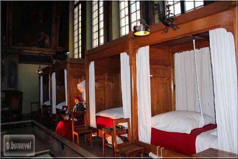 Bourgogne Les Hospices de Beaune la Salle Saint-Hugues