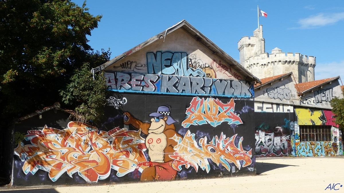 Les graffiti du Gabut
