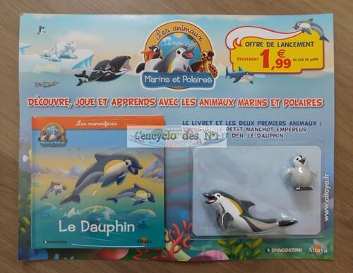 N° 1 Les animaux marins et polaires - Lancement