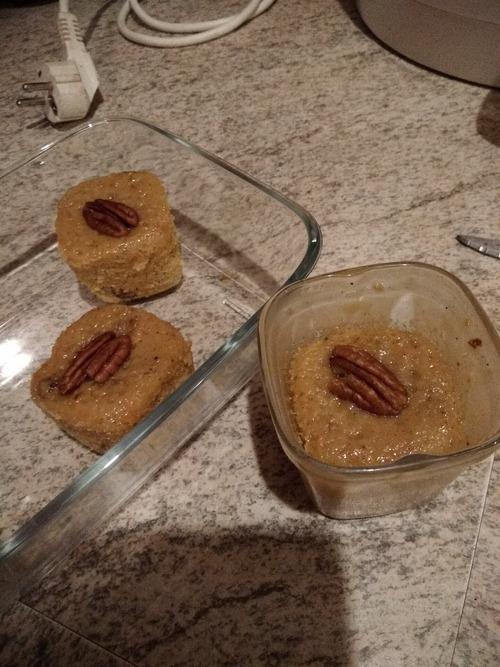 Recette gâteaux au carotte  avec la yaourtière Multi délices de Seb et noix et broderie cuisine