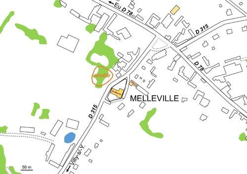 LES REMPARTS DE MELLEVILLE (Seine-Maritime)