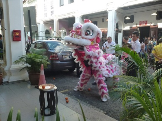 la danse du lion (Penang)