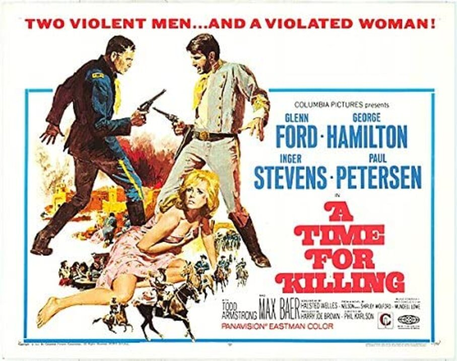 A TIME FOR KILLING BOX OFFICE USA 1968