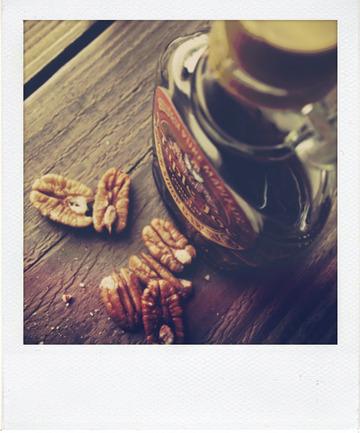 Macarons noix de pécan et sirop d'érable