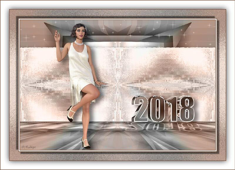 Cadeau de Nadège (vœux 2018)